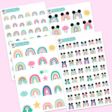 Rainbows Stickers