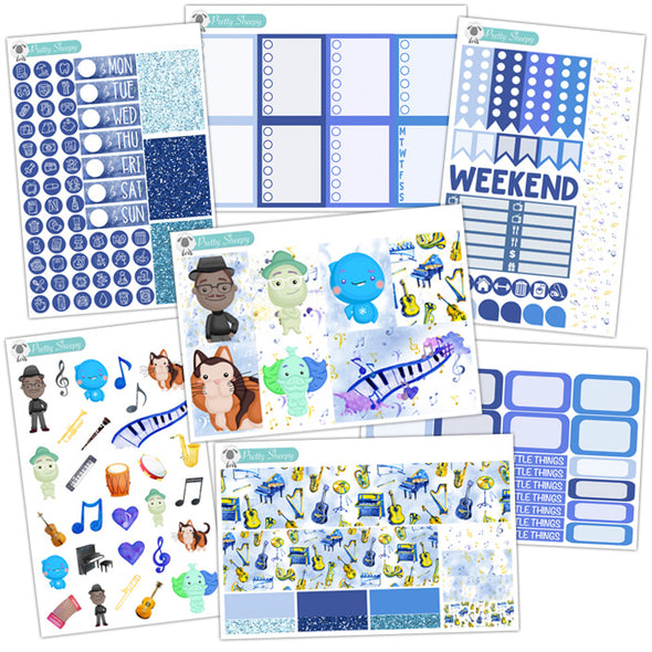 Soul Planner Stickers Collection