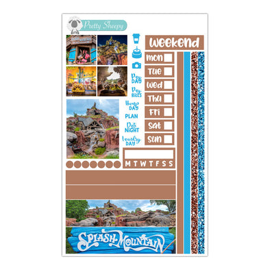 Splash Mountain Hobonichi Weeks Stickers