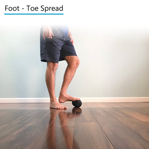 Foot - Toe Spread - Rolling
