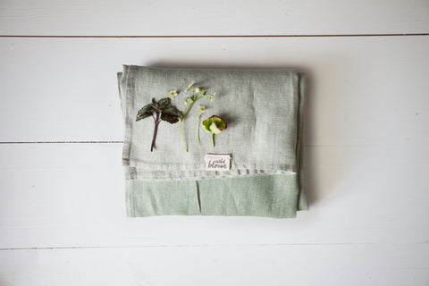 Lily Of The Valley - Plant Dyed - Ring Sling - Wildbloomfriends