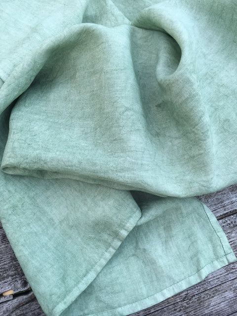 Plant Dyed - Apple Blossom (lighter green)