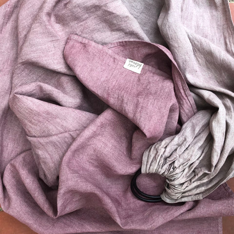 Plant Dyed - Pastel Dusty Rose
