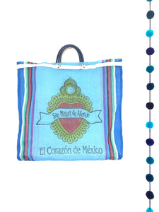 Mercado bag - colibrilove