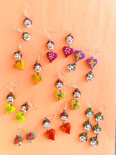 Calaverita earrings - colibrilove