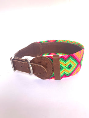 Sayulita- Dog collar (medium) - colibrilove