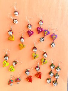 Calaverita earrings