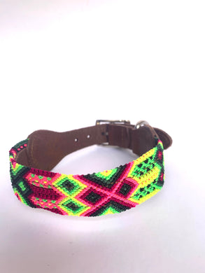 Bacalar- dog collar (small) - colibrilove