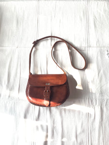 Chiapas classic leather bag - colibrilove