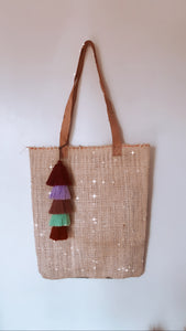 Repurposed tote bag - colibrilove