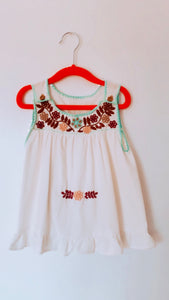 Flower baby dress - colibrilove