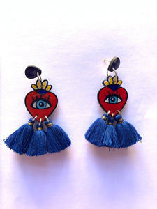 Corazón earrings