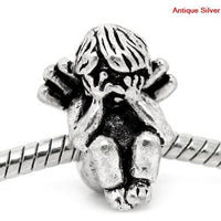 Angel Crying Charm Bead