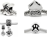 "Buckets of Beads ""I Love My Love Dog"" Inspired Wholesale Jewelry Charms"