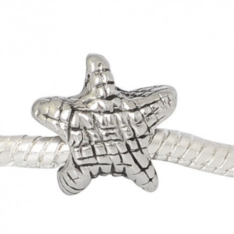 Stainless Steel Starfish Charm Bead