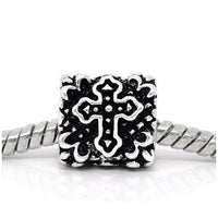 Celtic Cross Charm Bead