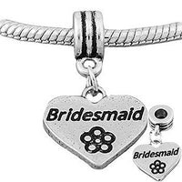 Bridesmaid Dangle Charm