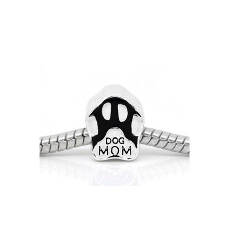 Dog Mom Charm Bead