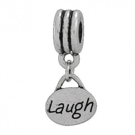 Laugh Dangle Charm Bead