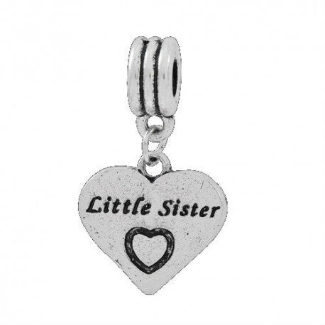 Little Sister Dangle Charm Bead