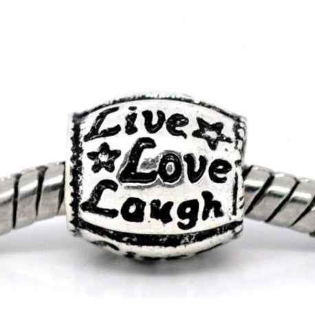 Live Love Laugh Charm Bead