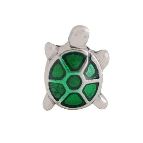 Floating Turtle Charm Compatible With Origami Owl Lockets
