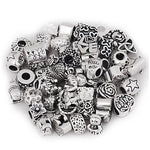 Pack of 10 Charm Beads. Fits All Major Charm Bracelets.