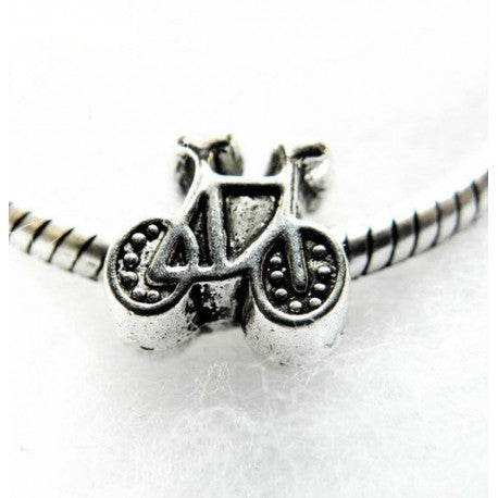 Bicycle Charm Bead