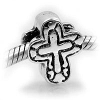 Cross Charm Bead