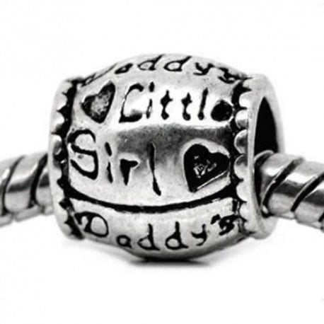 Daddy's Little Girl Charm Bead