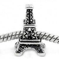 Buckets of Beads Eiffel Tower Charm Bead