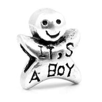 It's A Boy Charm Bead