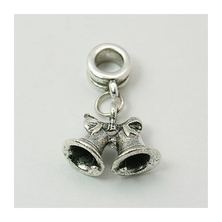 Jingle Bells Dangle Charm Bead
