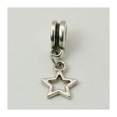 Star Dangle Charm Bead