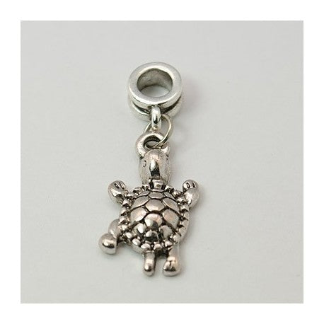 Turtle Dangle Charm Bead