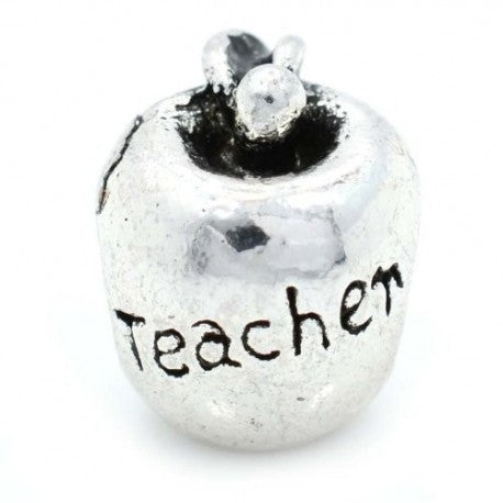 Teachers Apple Charm Bead