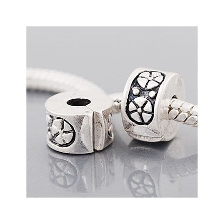 Wheels  Clip Lock Stopper Bead