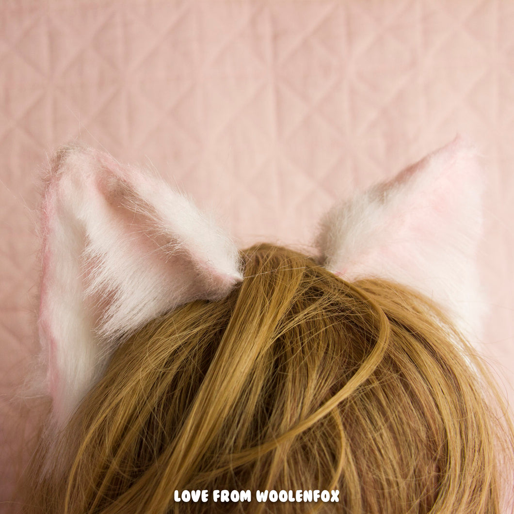 ON SALE ** Baby Pink Kitten Ears
