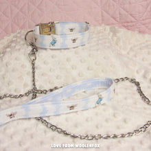 Peter Rabbit Pup Collar and Leash Set - 11 to 16 inches