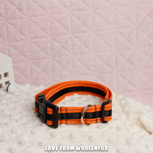 ON SALE ***  Pumpkin Pup Collar - 14 to 22 inches
