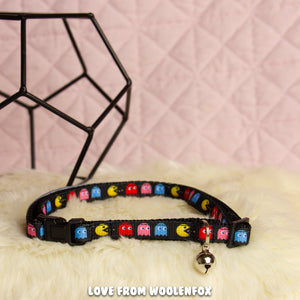 Pacman Kitten Collar - 13 to 20 inches