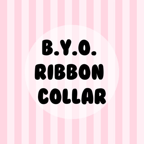 Build Your Own Ribbon Collar