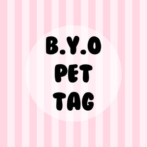 Build Your Own Pet Tag