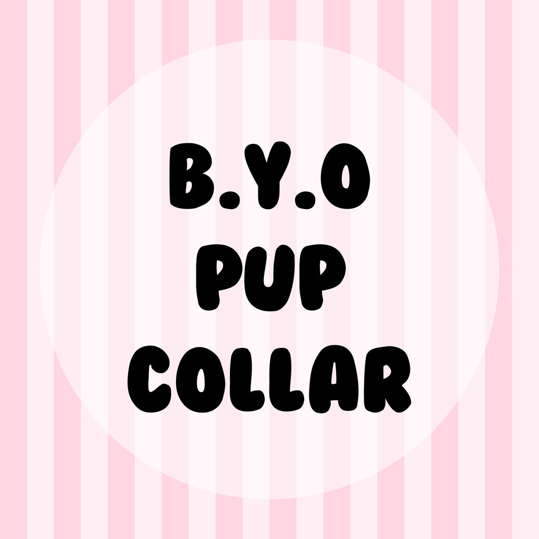 Build Your Own Pup Collar