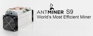 Bitcoin Miner - S9 Antminer - NEW IN BOX with Power Supply******