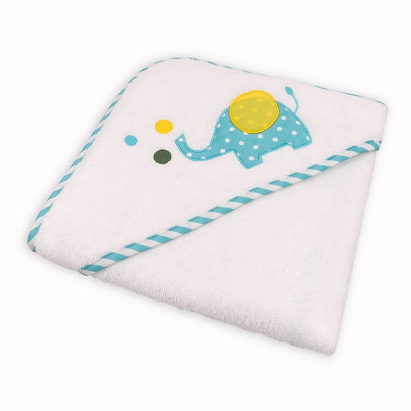 Baby Hooded Towel Elephant