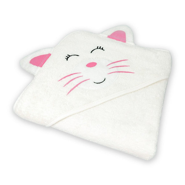 Hooded Towel Pinky Cat