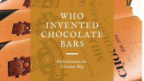 Who invented chocolate bars