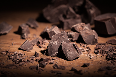 What are the four types of chocolate: Dark chocolate