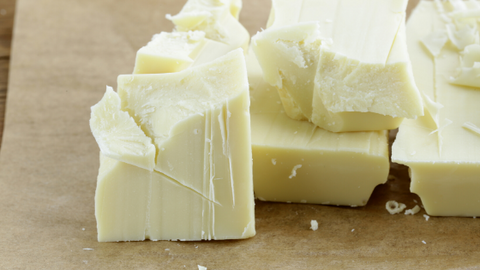 Types of chocolate: White Chocolate